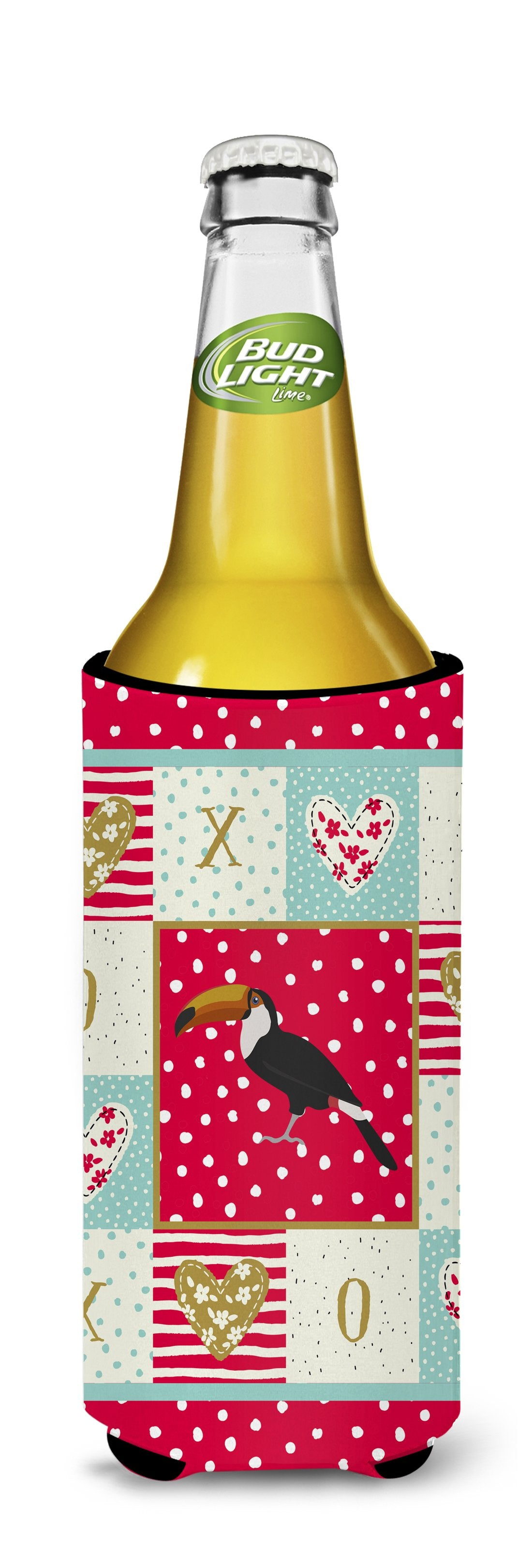 Toucan Love Michelob Ultra Hugger for slim cans CK5517MUK by Caroline's Treasures