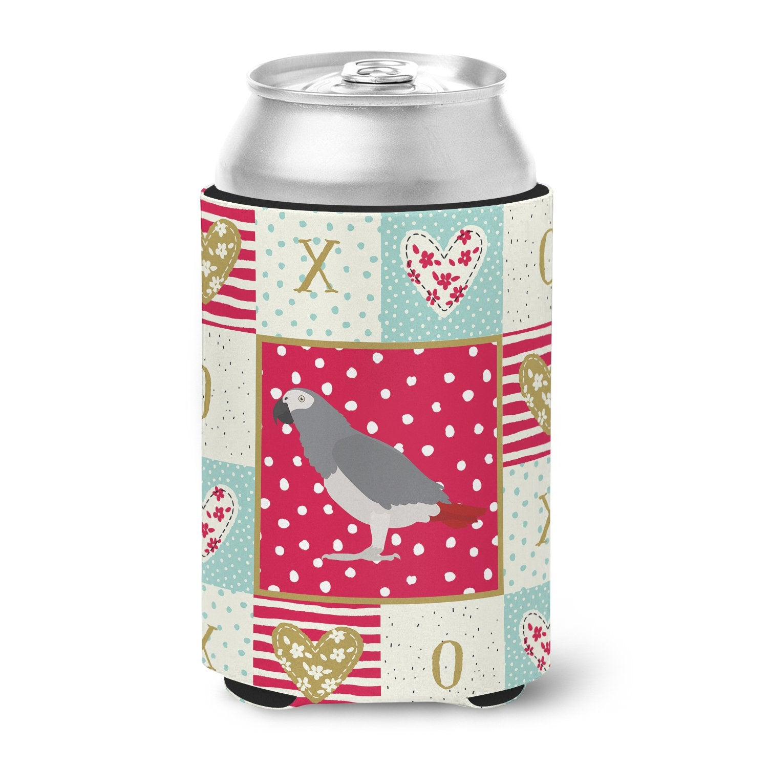 African Grey Parrot Love Can or Bottle Hugger CK5518CC by Caroline's Treasures