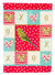 Budgerigar Love Flag Canvas House Size CK5520CHF by Caroline's Treasures
