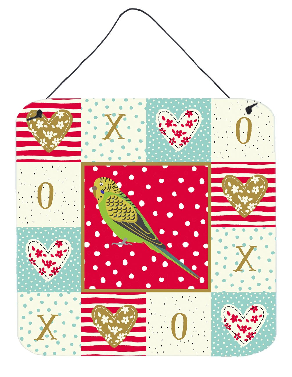 Buy this Budgerigar Love Wall or Door Hanging Prints CK5520DS66