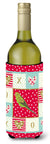 Budgerigar Love Wine Bottle Hugger CK5520LITERK by Caroline's Treasures
