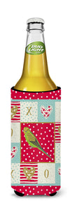 Budgerigar Love Michelob Ultra Hugger for slim cans CK5520MUK by Caroline's Treasures