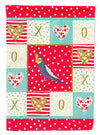 Cockatiel Love Flag Canvas House Size CK5521CHF by Caroline's Treasures
