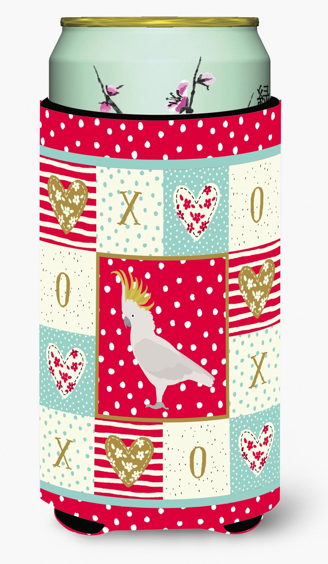 Buy this Cockatoo Love Tall Boy Beverage Insulator Hugger CK5522TBC
