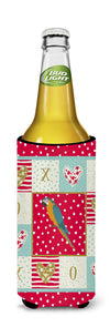 Macaw Love Michelob Ultra Hugger for slim cans CK5523MUK by Caroline's Treasures