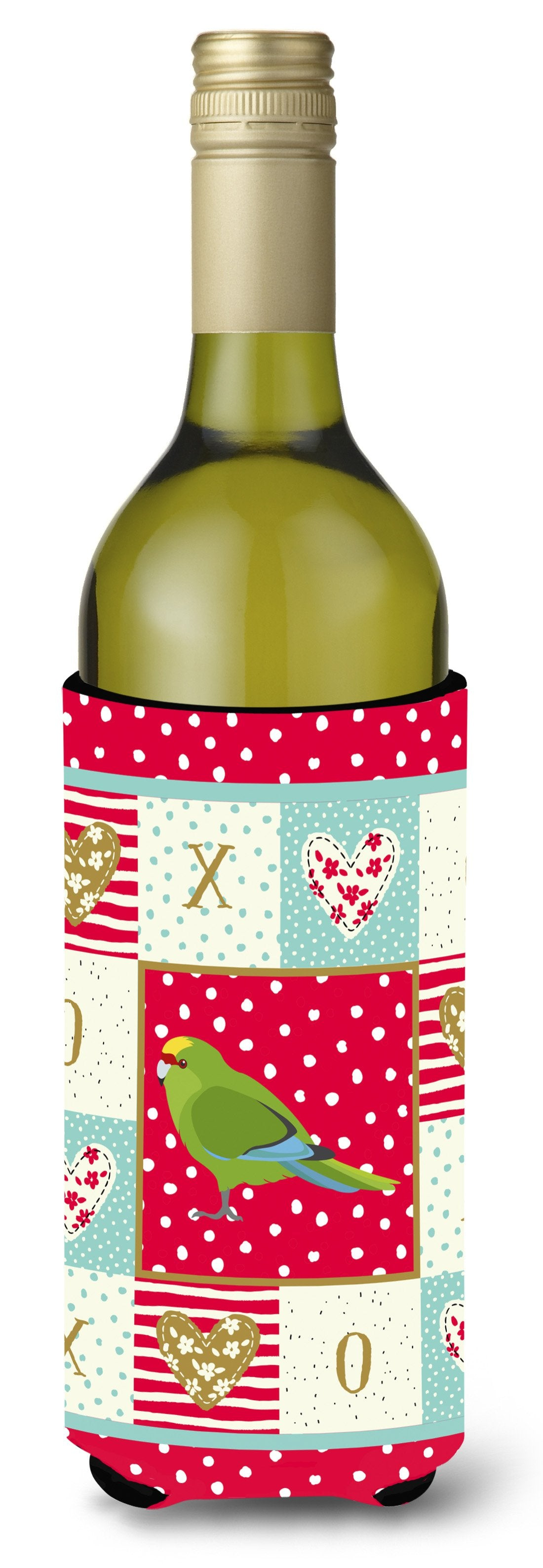 New Zealand Parakeet Love Wine Bottle Hugger CK5524LITERK by Caroline's Treasures