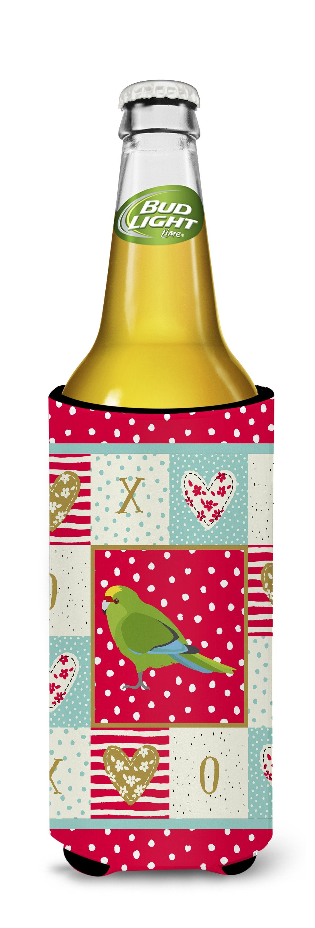 New Zealand Parakeet Love Michelob Ultra Hugger for slim cans CK5524MUK by Caroline's Treasures