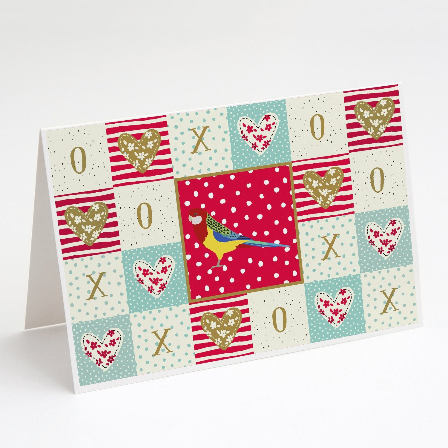 Buy this Rosella Love Greeting Cards and Envelopes Pack of 8