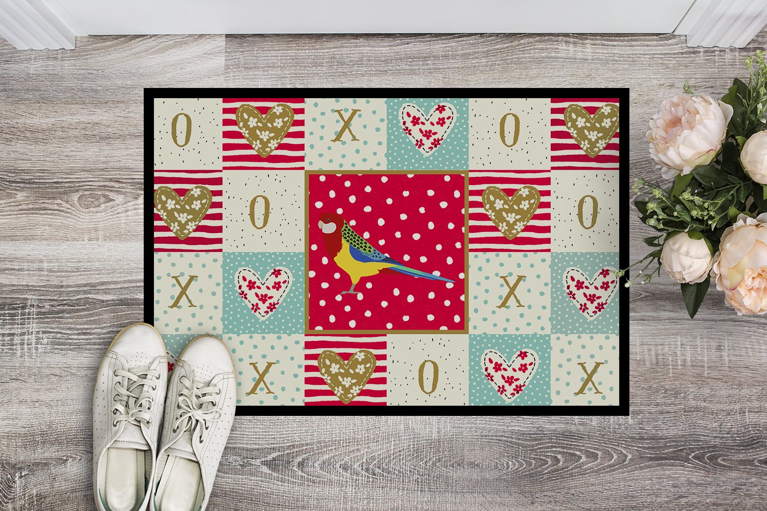 Buy this Rosella Love Indoor or Outdoor Mat 24x36 CK5526JMAT