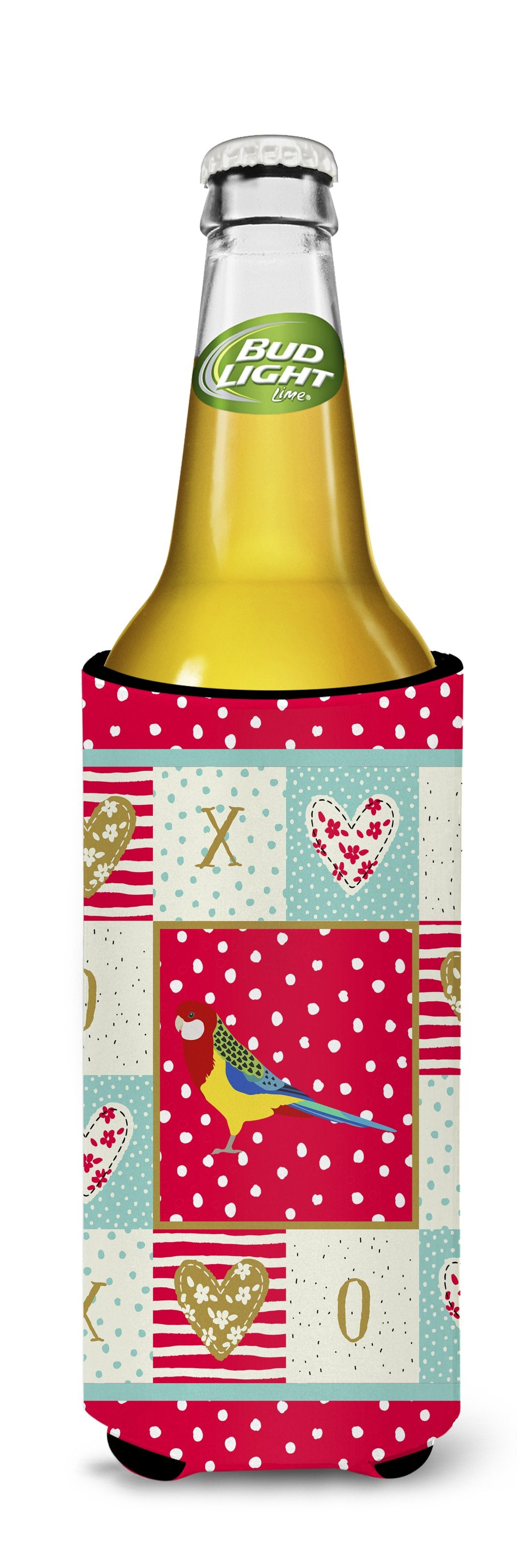 Rosella Love Michelob Ultra Hugger for slim cans CK5526MUK by Caroline's Treasures