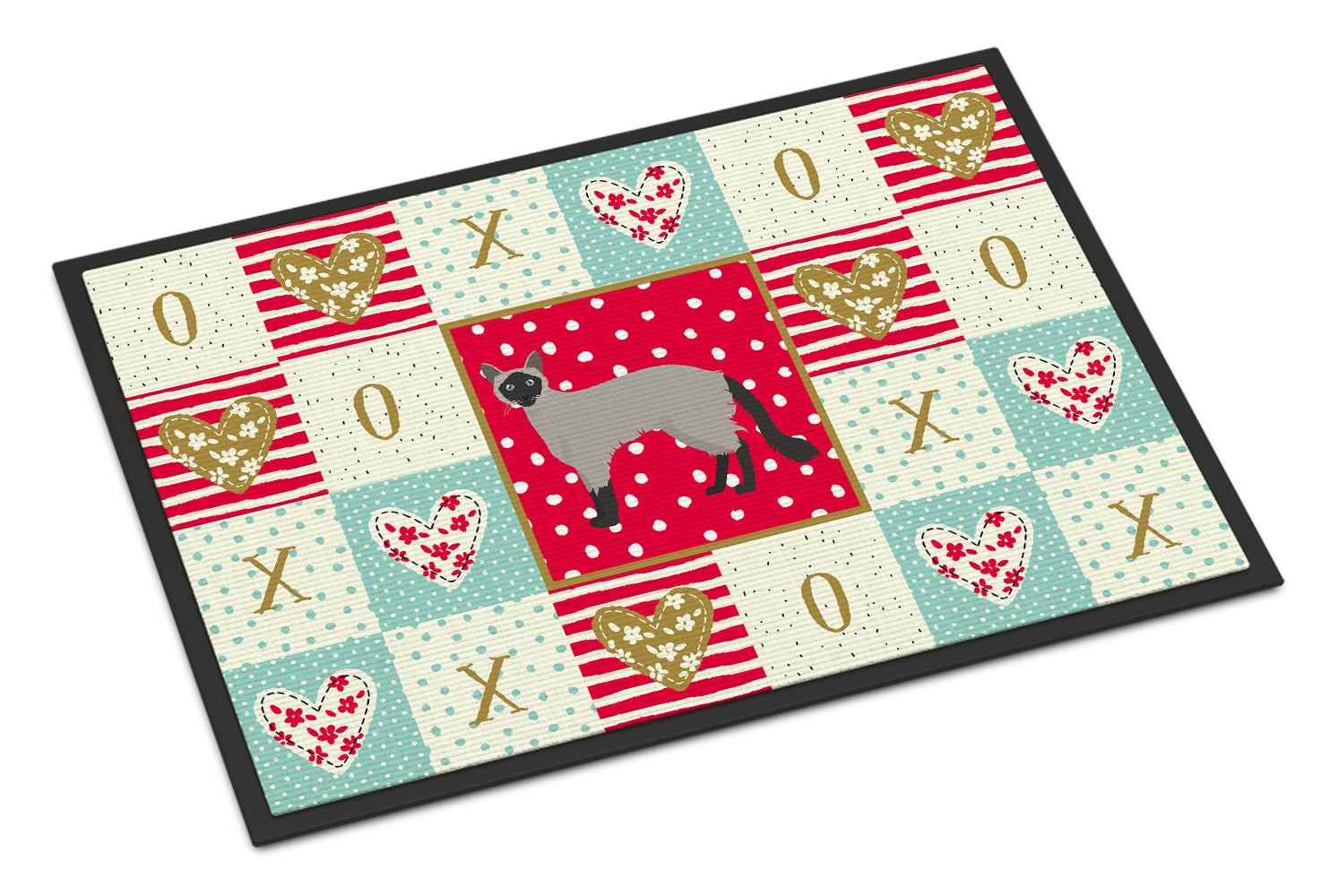 Buy this Balinese #1 Cat Love Indoor or Outdoor Mat 18x27 CK5558MAT