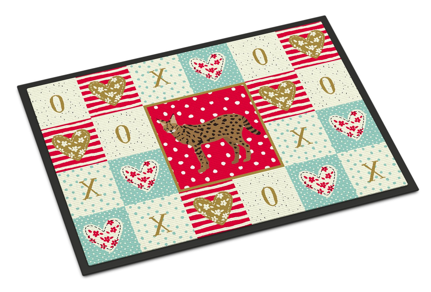Buy this Savannah #3 Cat Love Indoor or Outdoor Mat 24x36 CK5697JMAT