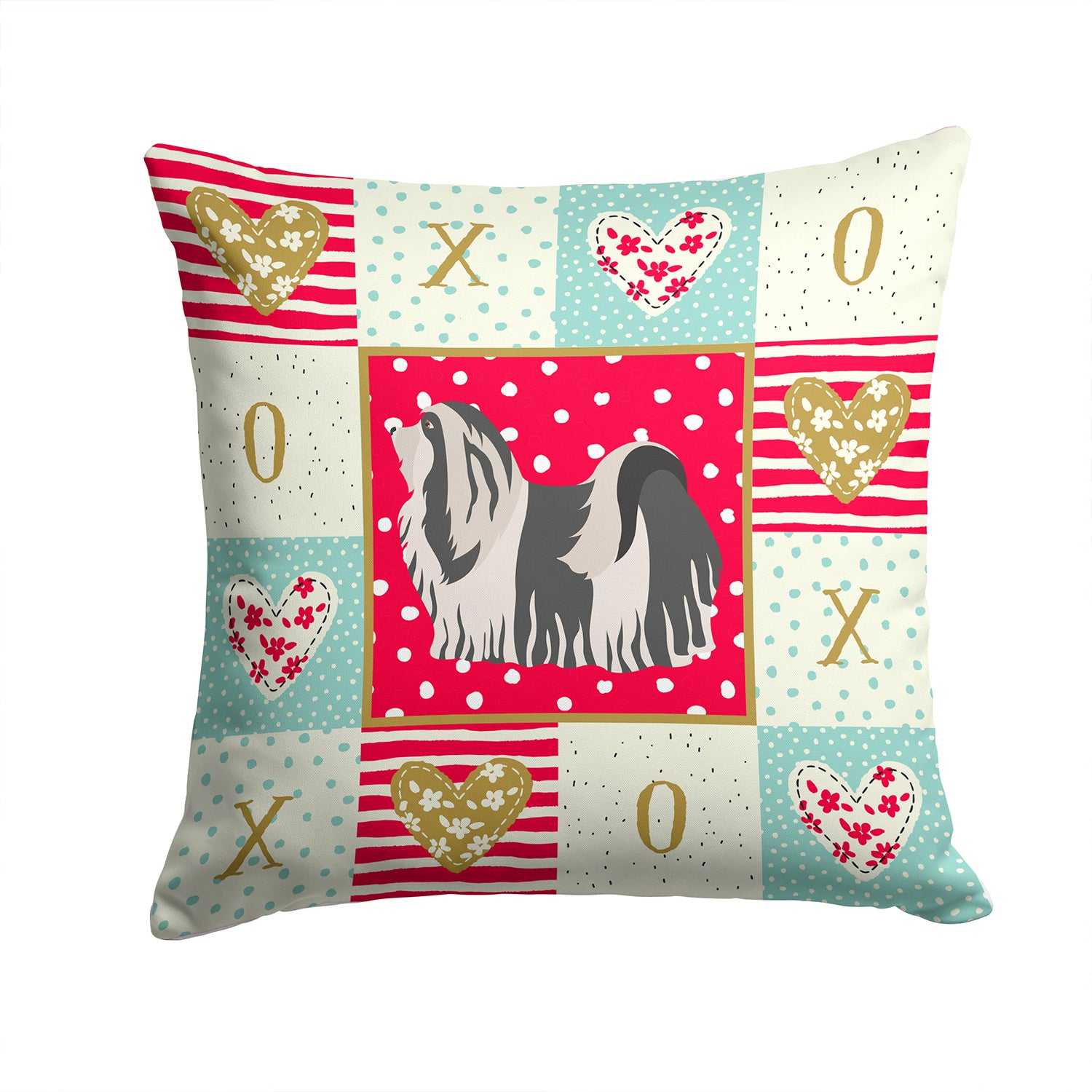 Buy this Havanese #1 Love Fabric Decorative Pillow CK5841PW1414