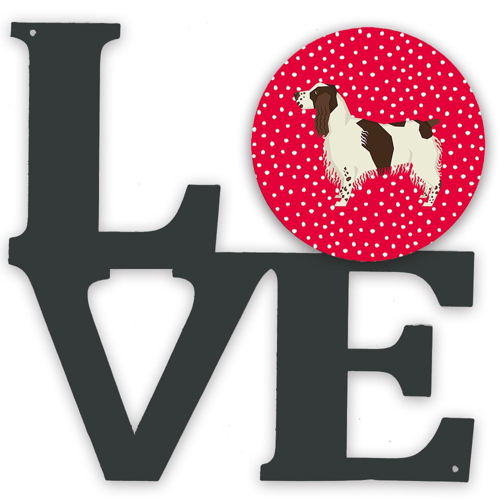 Buy this English Springer Spaniel Love Metal Wall Artwork LOVE CK5927WALV
