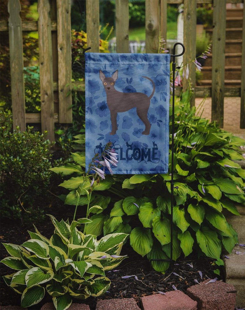 Buy this Abyssinian Sand Terrier Welcome Flag Garden Size CK5961GF