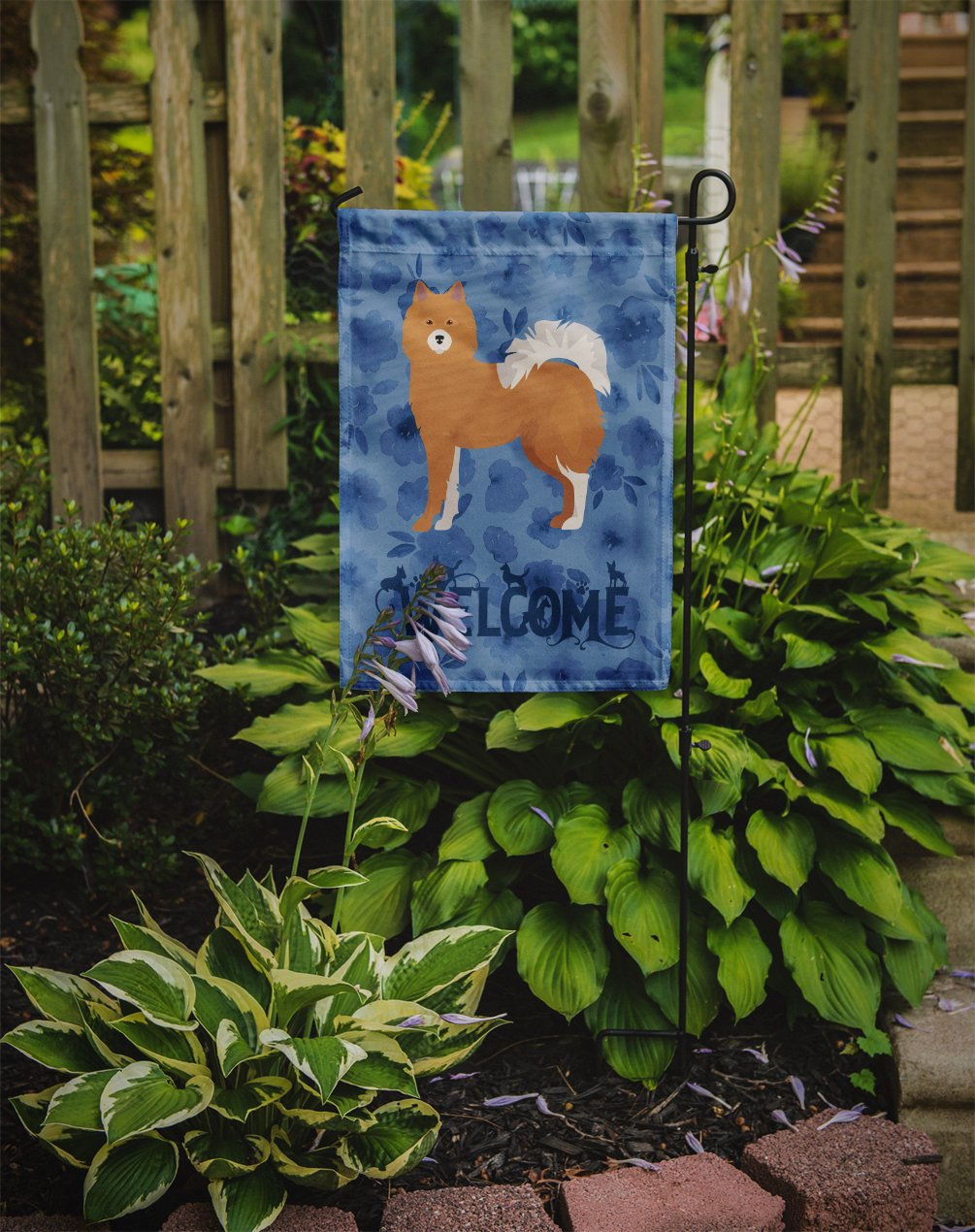 Elo Dog #1 Welcome Flag Garden Size CK5984GF by Caroline's Treasures