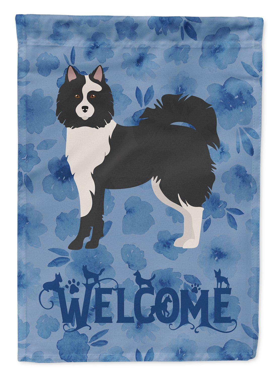 Elo Dog #2 Welcome Flag Garden Size CK5985GF by Caroline's Treasures