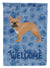 Buy this French Bulldog #2 Welcome Flag Garden Size CK5992GF