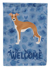 Italian Greyhound #2 Welcome Flag Garden Size CK6002GF by Caroline's Treasures