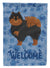 Pomeranian #2 Welcome Flag Canvas House Size CK6034CHF by Caroline's Treasures