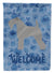 Kerry Blue Terrier Welcome Flag Canvas House Size CK6119CHF by Caroline's Treasures