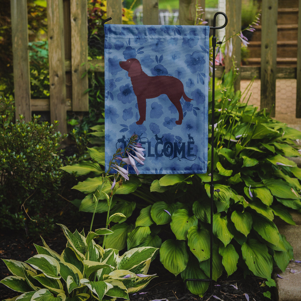 American Water Spaniel Welcome Flag Garden Size CK6128GF by Caroline's Treasures