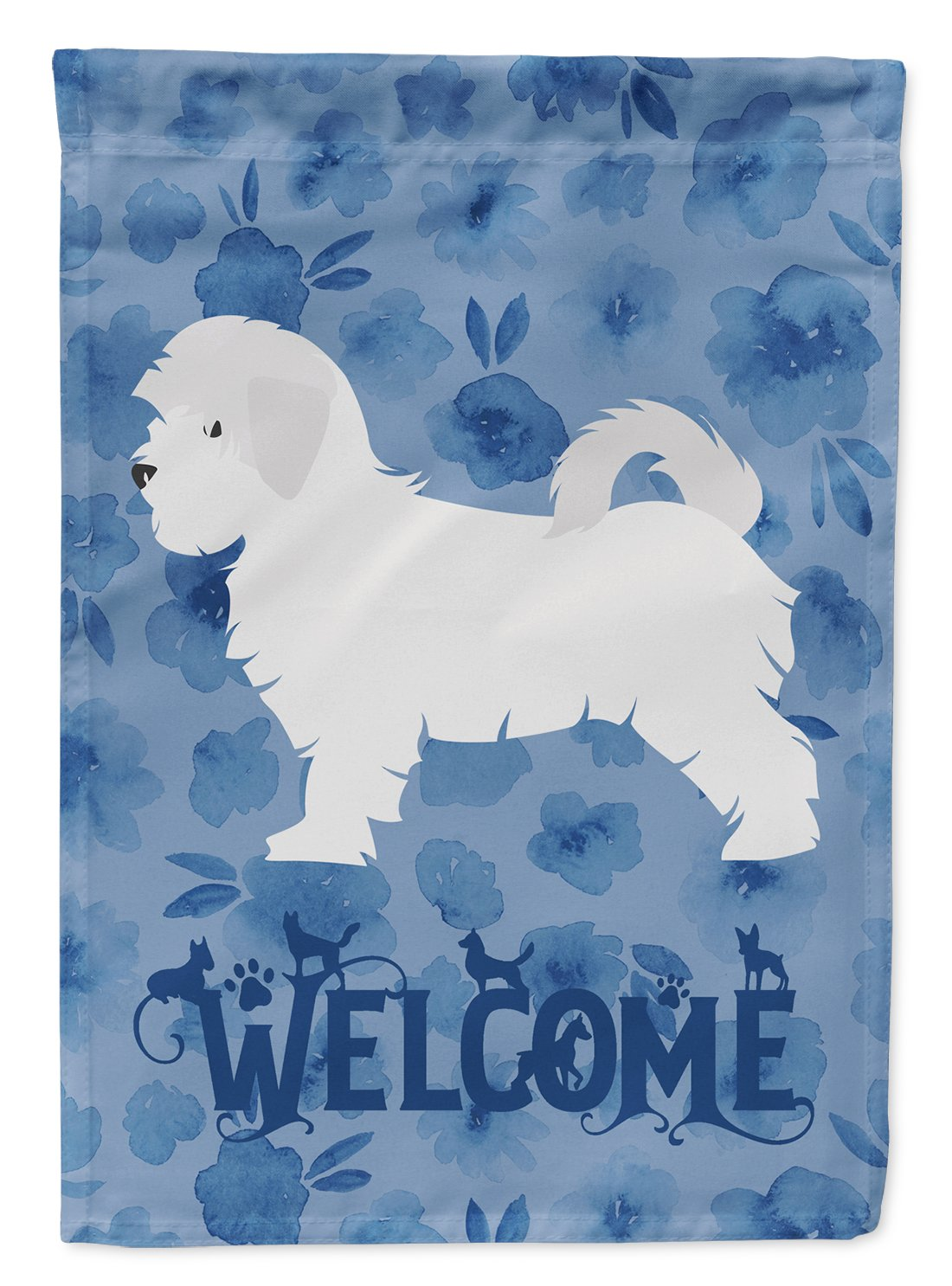 Maltese Welcome Flag Garden Size CK6163GF by Caroline's Treasures