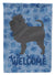 Affenpinscher Welcome Flag Canvas House Size CK6175CHF by Caroline's Treasures