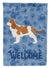 Cavalier King Charles Spaniel Welcome Flag Canvas House Size CK6176CHF by Caroline's Treasures