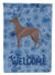Mexican Hairless Dog Xolo Welcome Flag Garden Size CK6274GF by Caroline's Treasures