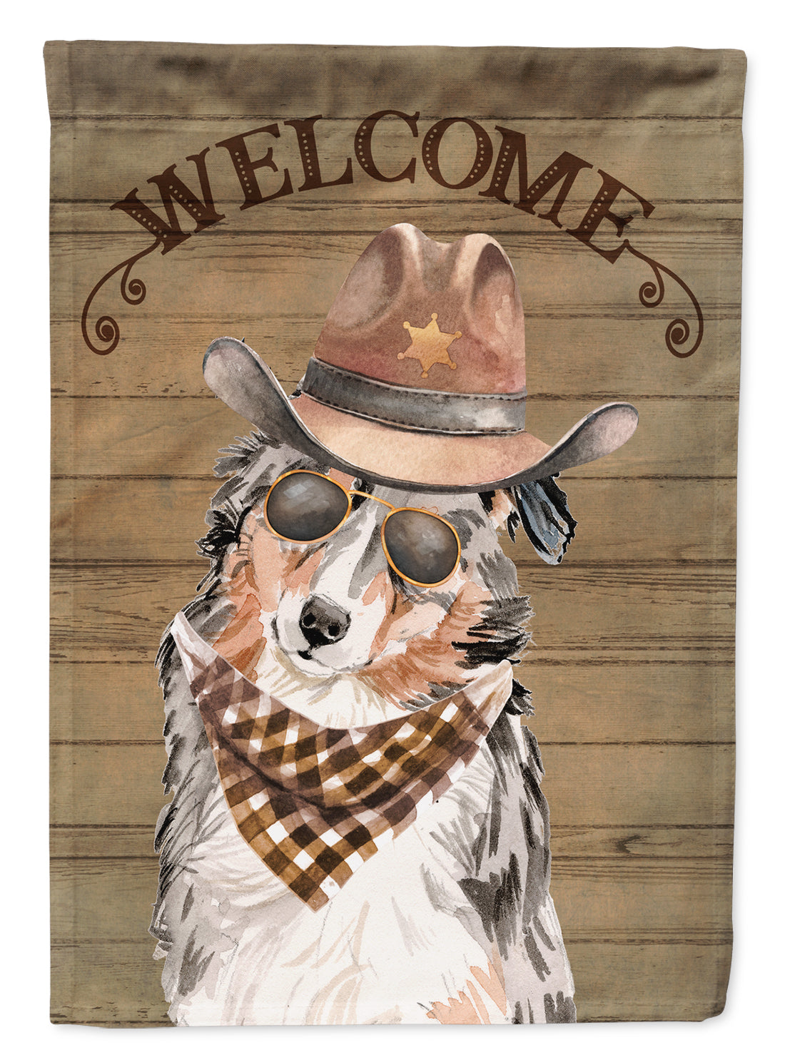 Buy this Australian Shepherd Country Dog Flag Canvas House Size CK6278CHF
