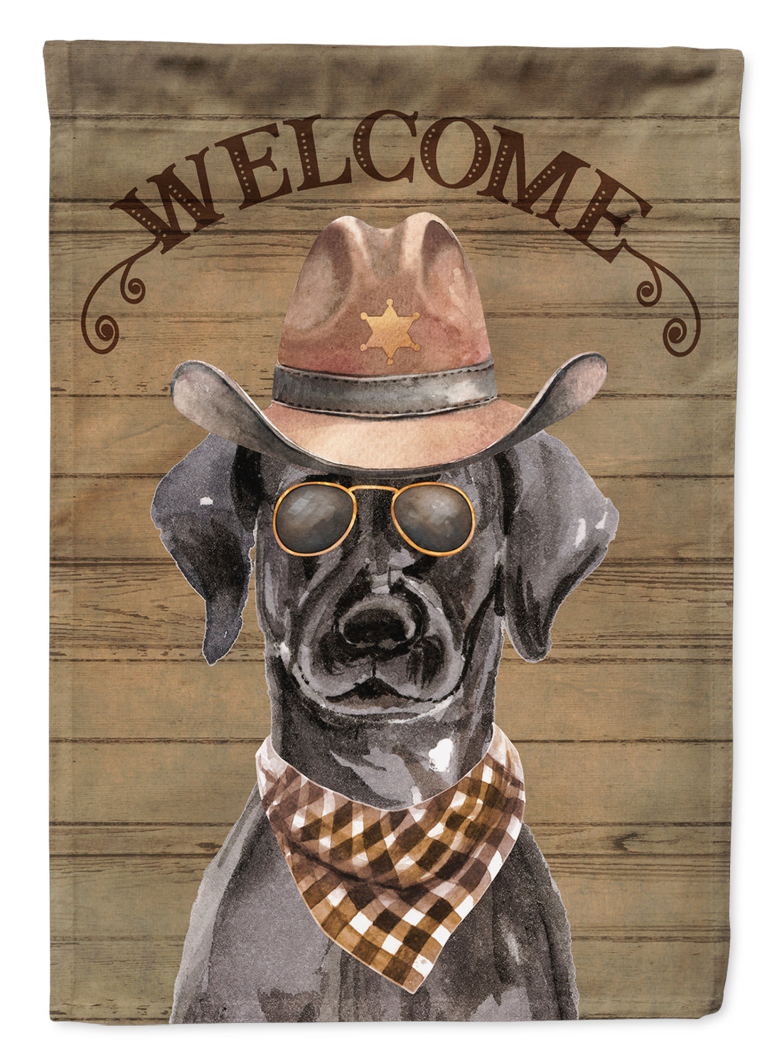 Buy this Black Labrador Retriever Country Dog Flag Canvas House Size CK6288CHF