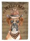 Boxer Country Dog Flag Canvas House Size CK6293CHF by Caroline's Treasures