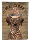 Chocolate Labrador Retriever Country Dog Flag Garden Size CK6297GF by Caroline's Treasures