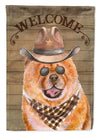 Chow Chow Country Dog Flag Garden Size CK6307GF by Caroline's Treasures