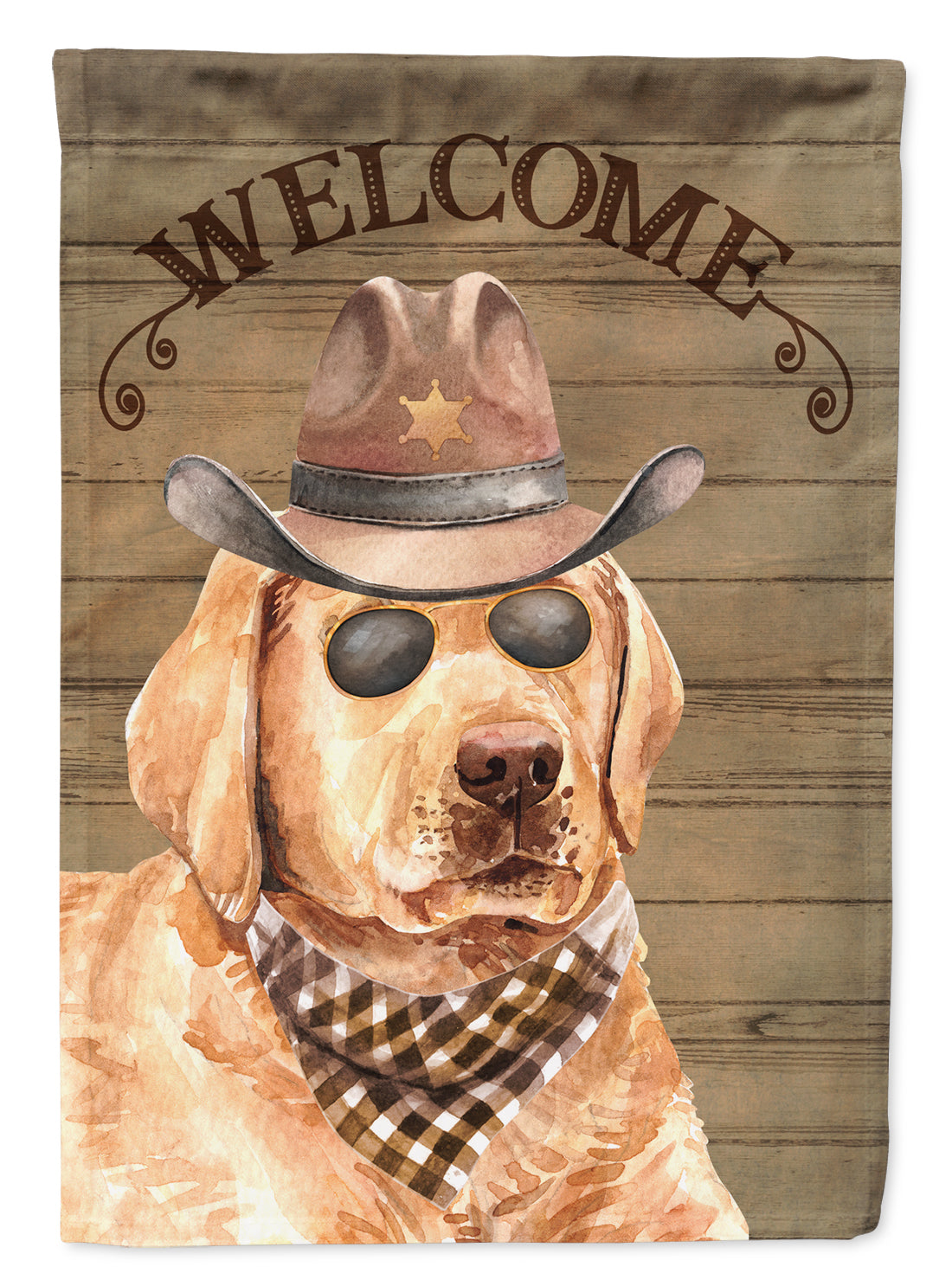 Buy this Labrador Retriever Country Dog Flag Canvas House Size CK6323CHF