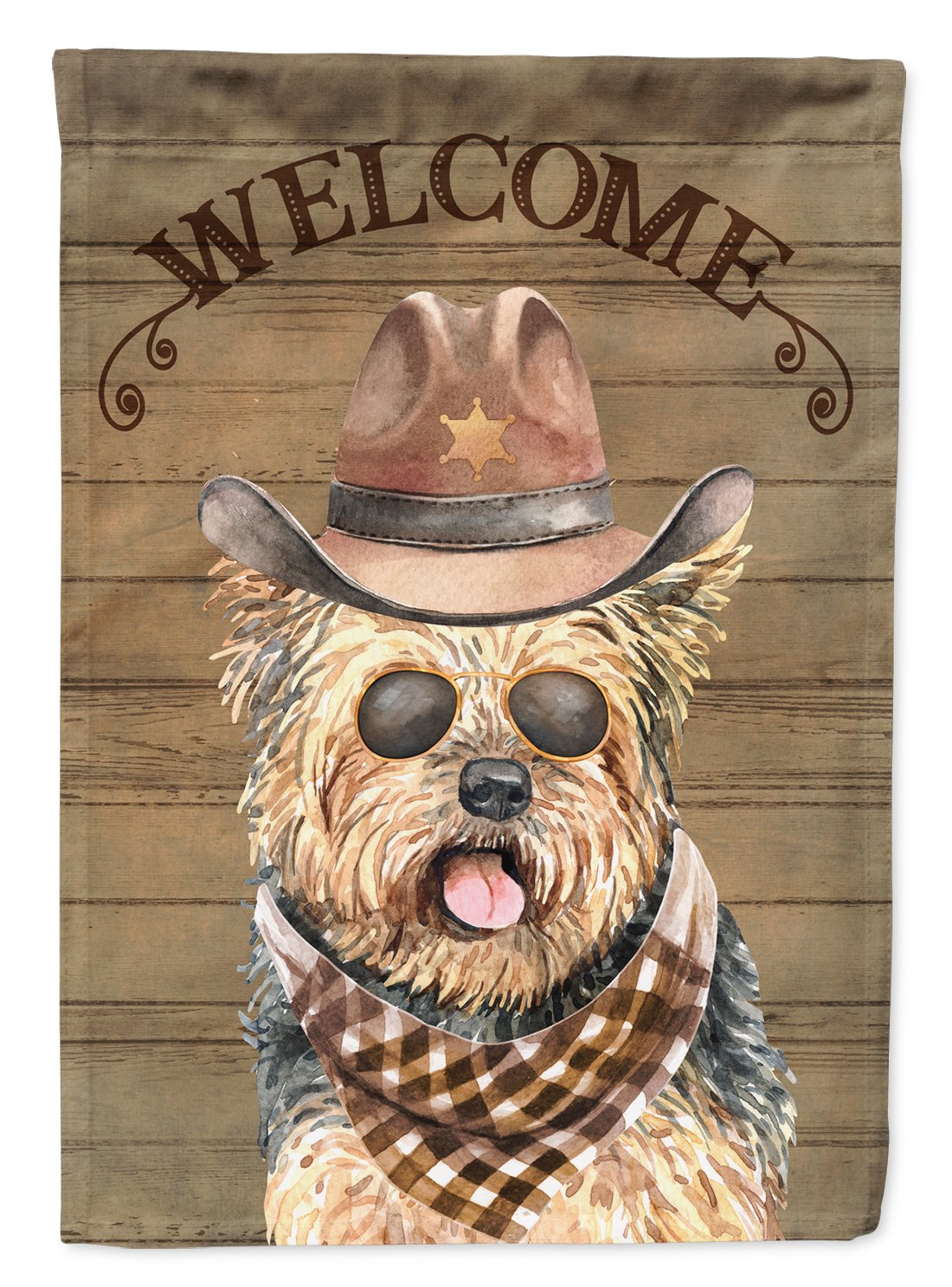Buy this Yorkshire Terrier Country Dog Flag Garden Size CK6327GF