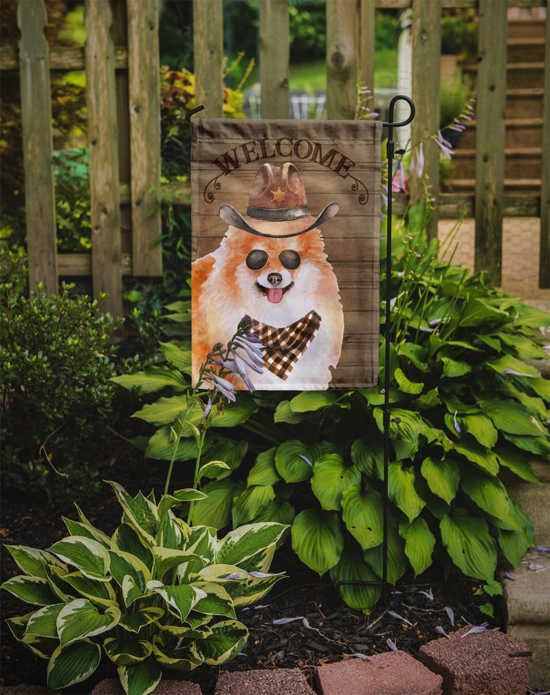 Buy this Pomeranian Spitz Country Dog Flag Garden Size CK6348GF