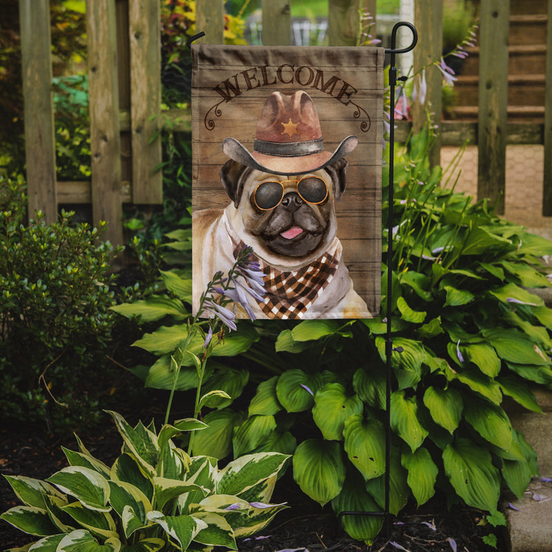 Buy this Pug Country Dog Flag Garden Size CK6351GF