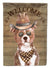 Buy this Staffordshire Bull Terrier #3 Country Dog Flag Canvas House Size CK6367CHF