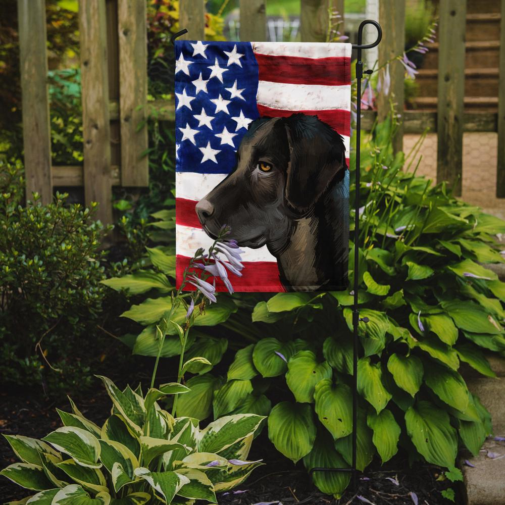 Portuguese Cattle Dog American Flag Flag Garden Size CK6476GF by Caroline's Treasures
