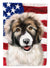 Carpathian Shepherd Dog American Flag Flag Garden Size CK6478GF by Caroline's Treasures