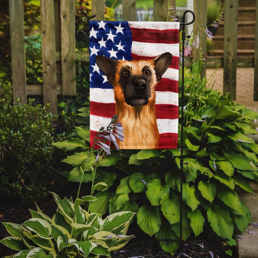 Chinook Dog American Flag Flag Garden Size CK6489GF by Caroline's Treasures