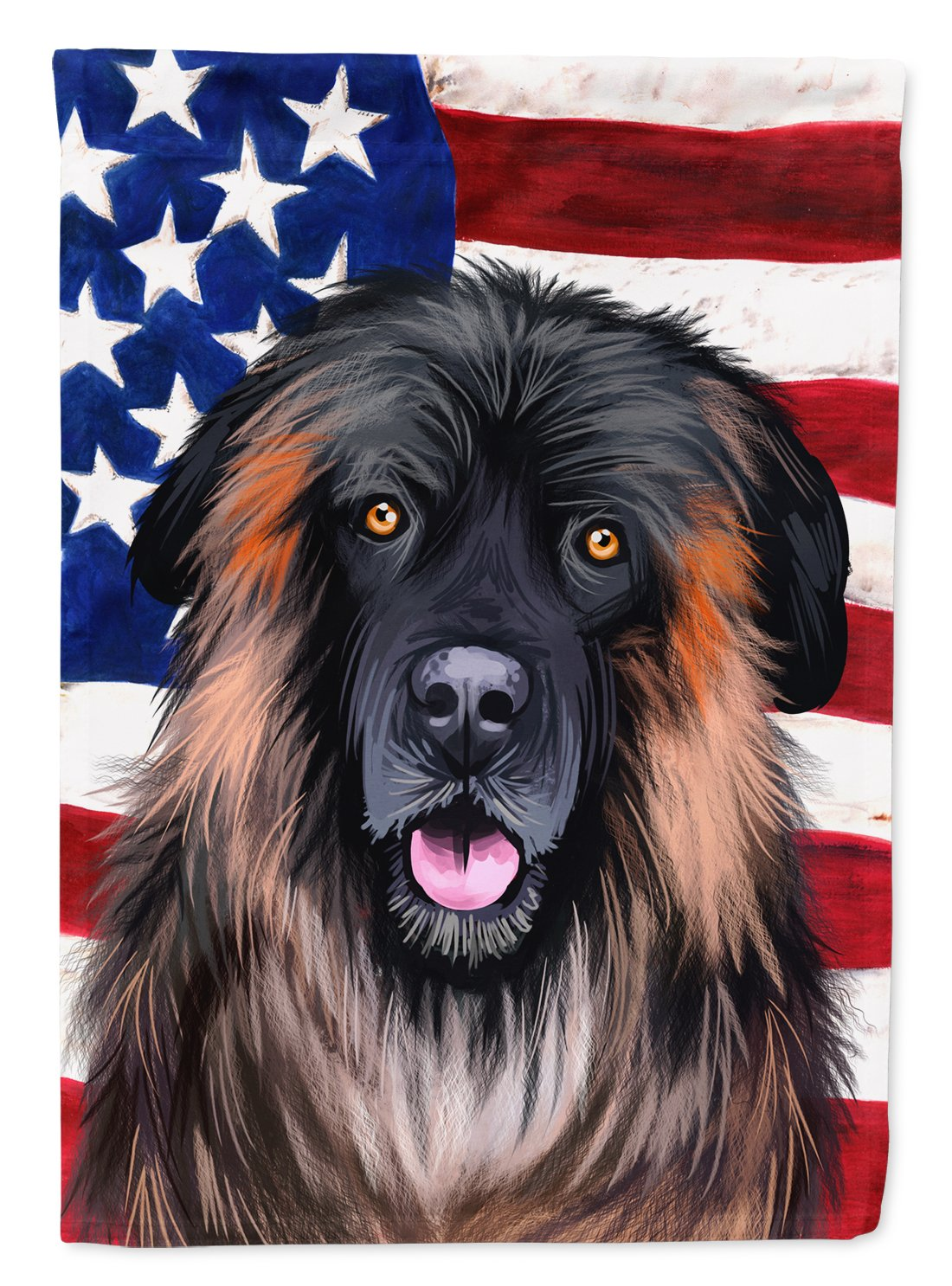 Estrela Mountain Dog American Flag Flag Garden Size CK6518GF by Caroline's Treasures