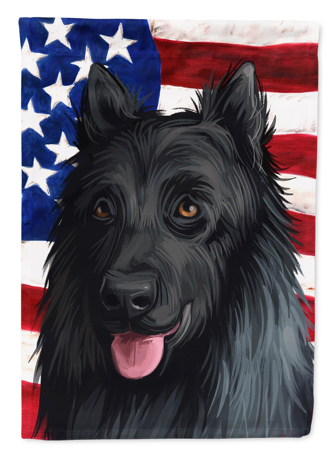 King Shepherd American Flag Flag Garden Size CK6592GF by Caroline's Treasures