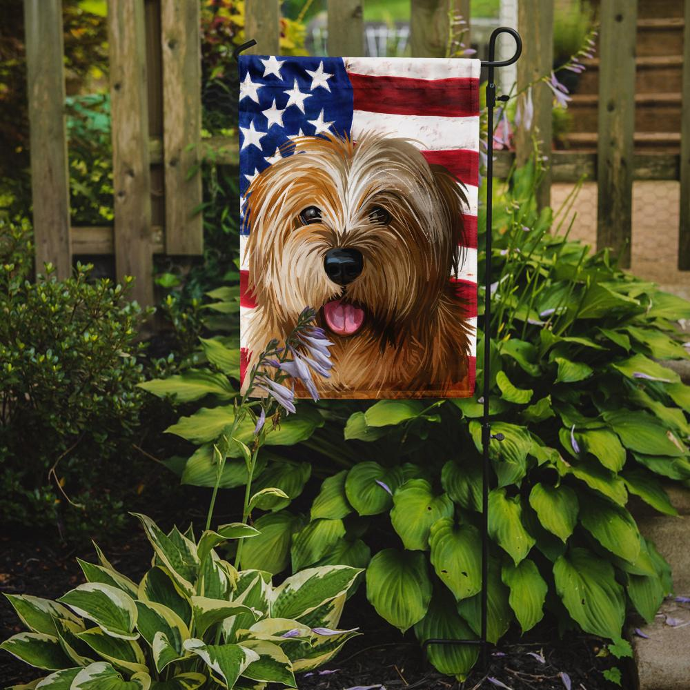 Norfolk Terrier Dog American Flag Flag Garden Size CK6627GF by Caroline's Treasures