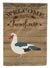 Muscovy Duck Welcome Flag Garden Size CK6808GF by Caroline's Treasures
