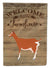 Toggenburger Goat Welcome Flag Garden Size CK6825GF by Caroline's Treasures