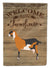 Anglo-nubian Nubian Goat Welcome Flag Canvas House Size CK6827CHF by Caroline's Treasures