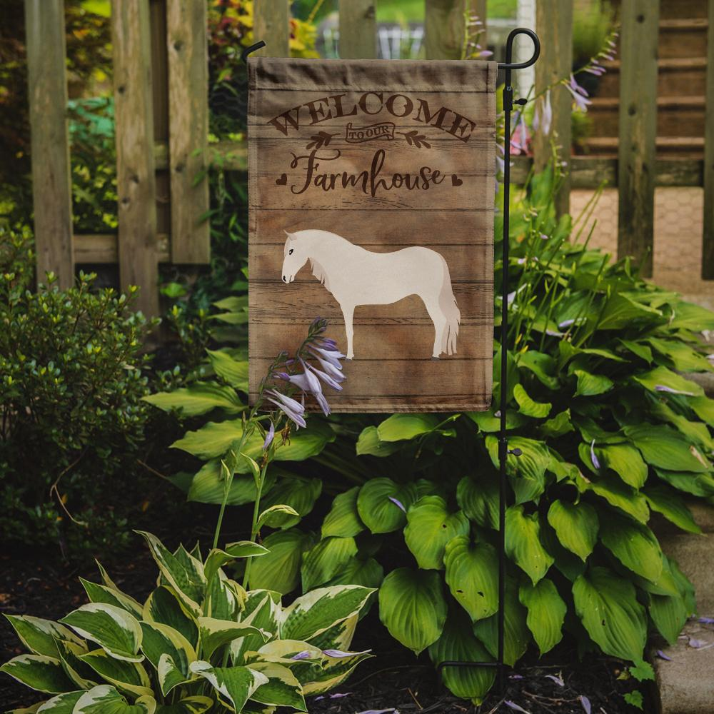 Paso Fino Horse Welcome Flag Garden Size CK6849GF by Caroline's Treasures